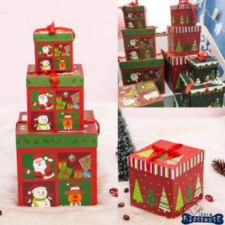 H-C★Lovely Square Candy Box Christmas Party Favour Gift Boxes Birthday Decor DIY