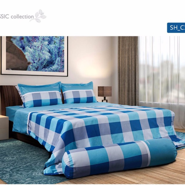 ♨️ Ga chun Sông Hồng 100% vải cotton thấm hút tốt mềm mịn màu xanh trắng đa dạng kích thước vận chuy