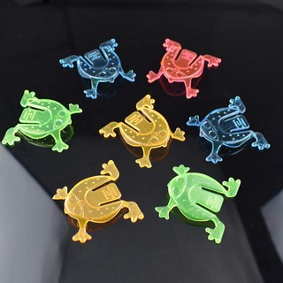 Combo 3 Đồ chơi ếch nhựa nhảy vui nhộn