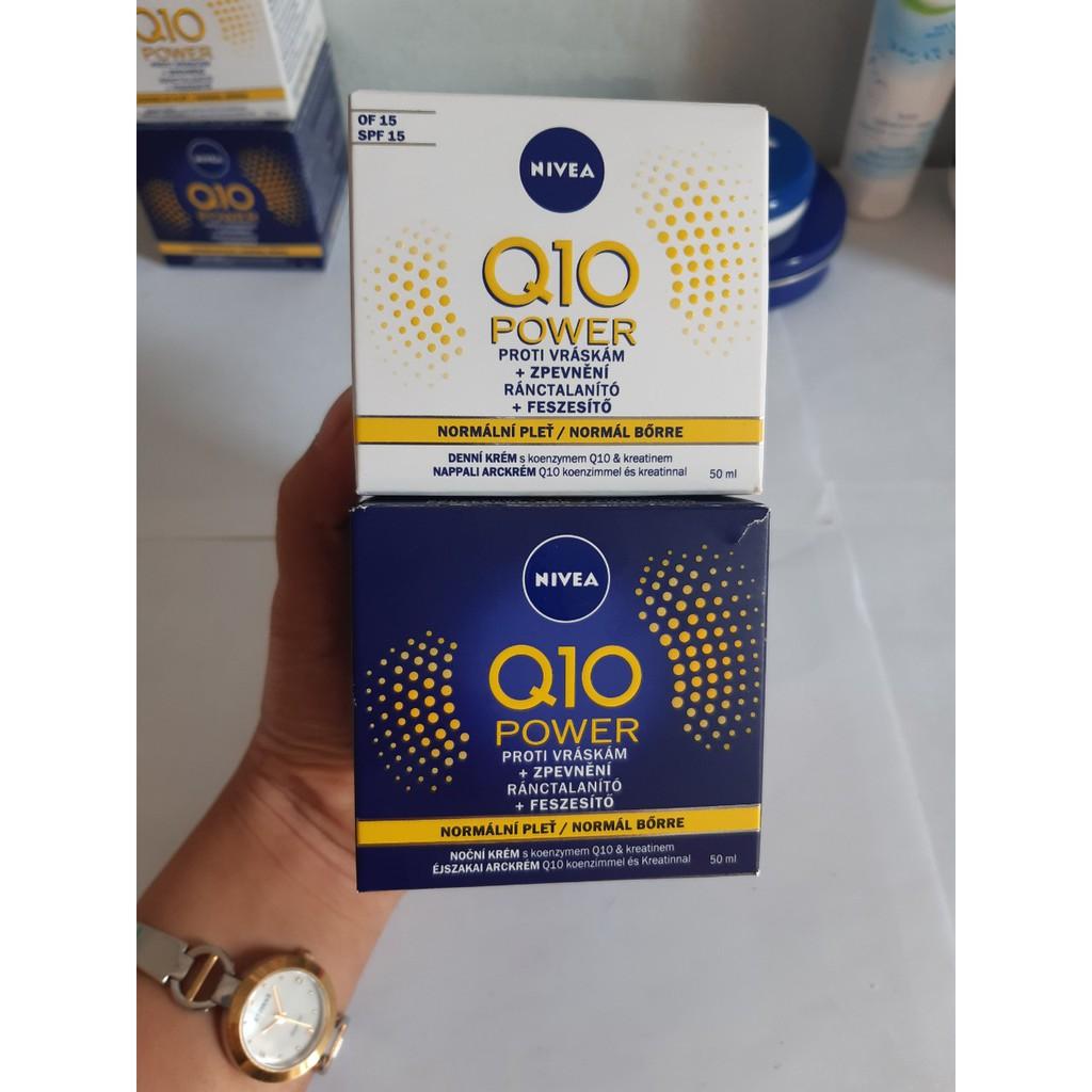 [Hàng xách tay] Bộ sản phẩm dưỡng da chống nhăn, chống lão hóa Nivea Q10 Power
