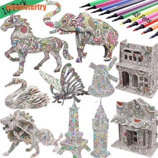 Puzzle 3D Puzzle Model Adult puzzle Model Kit DIY Toy Puzzle Manual model