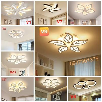 Đèn LED Ốp Trần Trang Trí Phòng Khách-Đèn Trần Trang TRí Phòng Ngủ-Có Điều Khiển