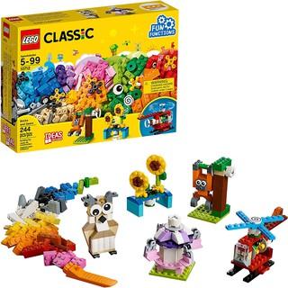 LEGO Classic 10712 (244 Mảnh Ghép) Hộp Gạch Sáng Tạo Chuyển Động Hình Xoay – Đồ Chơi Xếp Hình LEGO Chính Hãng Đan Mạch