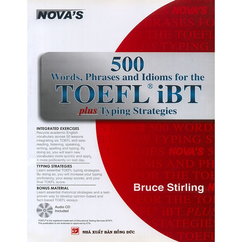 500 Words, Phrases and Idioms for the TOEFL iBT (kèm CD)