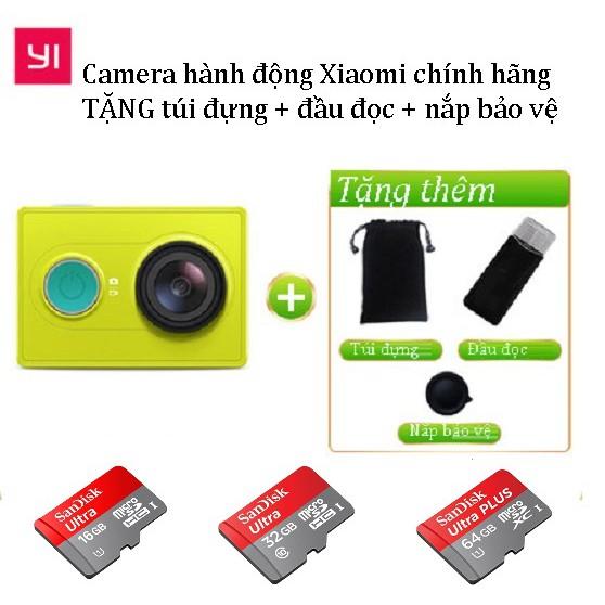 [RẺ VÔ ĐỊCH] Camera hành động Xiaomi Yi Action 1080p - BH 1 năm