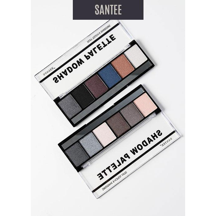 BẢNG PHẤN MẮT Silky Touch 6 Eyeshadow Palette 2