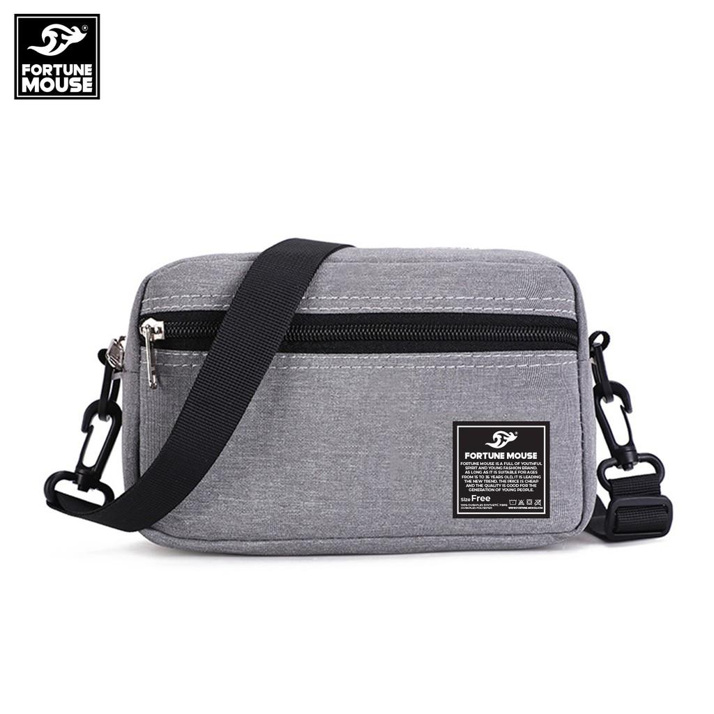 Túi đeo chéo thời trang tiện lợi messenger Fortune Mouse C345