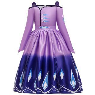 Đầm Hóa Trang Elsa 2-12 Tuổi