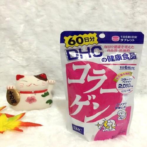 Viên uống collagen DHC Nhật Bản 360 Viên cho Da mịn màng