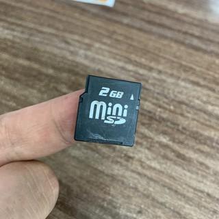 Thẻ nhớ điện thoại cổ MiniSD – 2GB, 128MB, 64MB chính hãng.