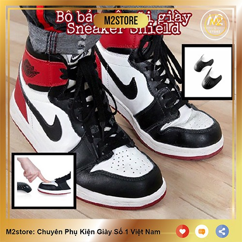 Bộ bảo vệ mũi giày, độn chống nhăn gãy nứt SNEAKER SHIELD - XIMO (CG