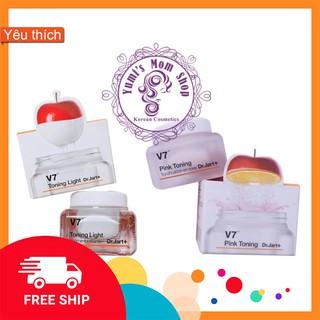 [Hot Sale] Kem dưỡng V7 Pink Toning Dr.Jart mini 15ml
