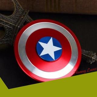 [SIÊU UU ĐÃI] Spinner Khiêng Captain america kim loại cao cấp cho bé siêu bền