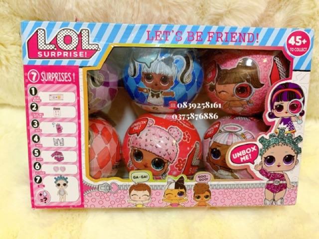 Bộ Trứng BÚP BÊ LOL Suprise Doll