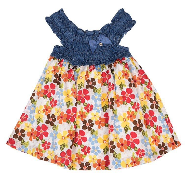 Váy - Mimi - Frilled Floral Dress - G17DRS0001FL