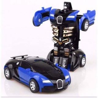Đồ chơi Xe ô tô biến hình thành Robot