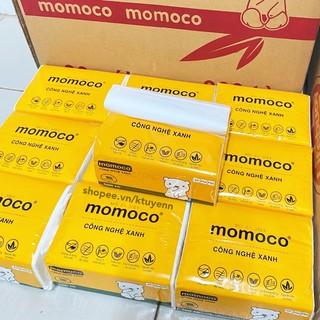 Khăn giấy gấu trắng MOMOCO dai mịn công nghệ xử lý xanh 2