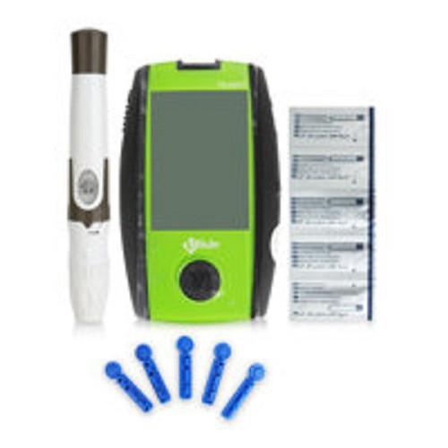 Máy đo đường huyết Uright TD 4267 Tặng kèm 25 que thử + 10kim
