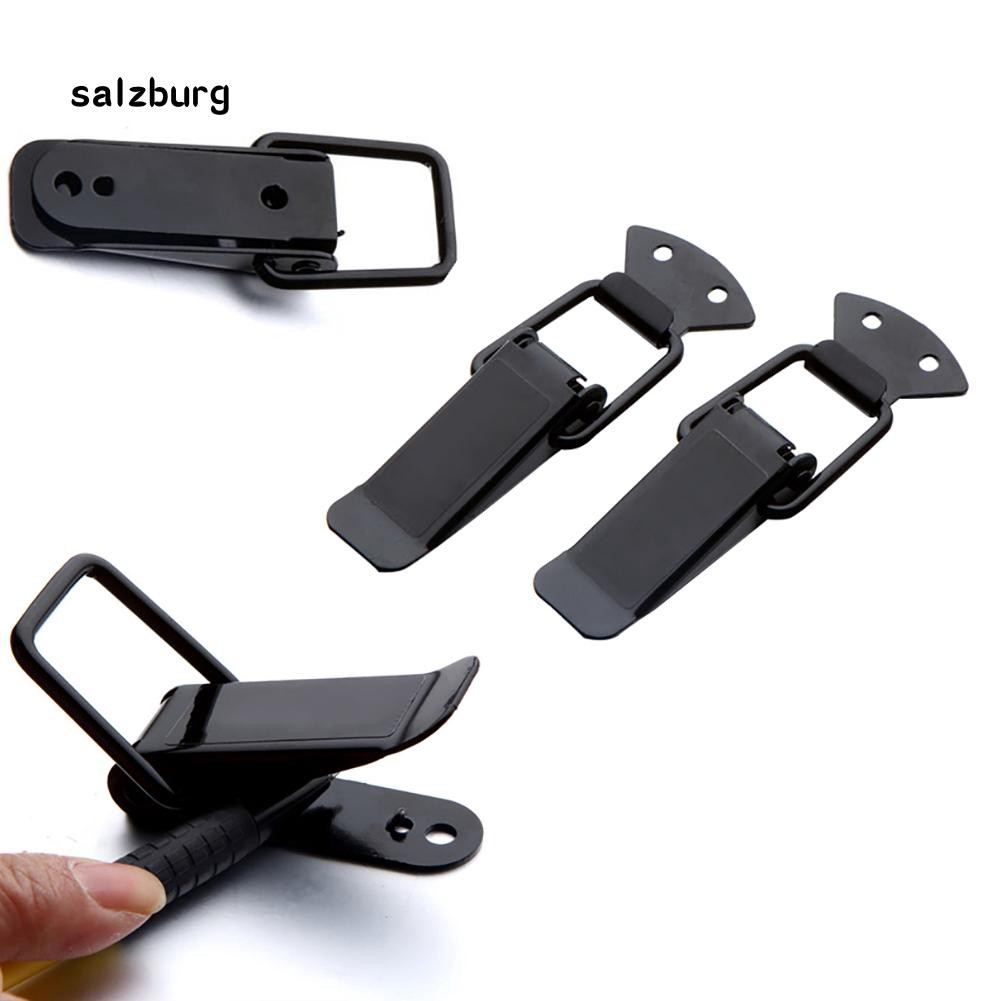 FHUE_Universal Car Styling Security Bumper Quick Release Hook Lock Clip Fixed Buckle