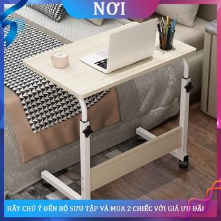 ❀Máy tính Dấu mộc Bàn nâng đầu giường Đơn giản Bàn gấp nhỏ và có thể di chuyển bên hông ghế sofa tại nhà