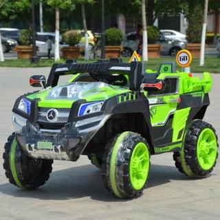 Ô tô điện địa hình MERCEDES cao cấp 2 ghế 4 động cơ NEL-803 tặng bộ đồ chơi – DH STORE