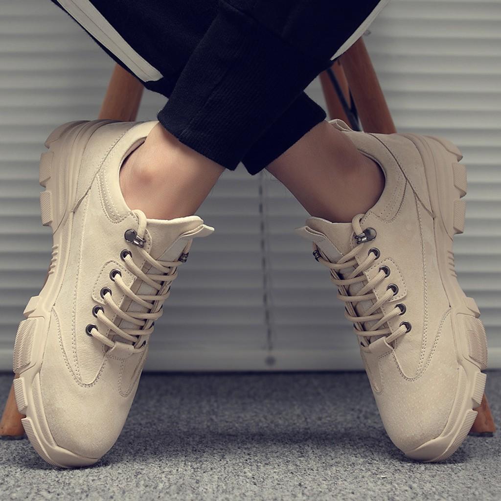 Giày Thể Thao Nam [ NHIỀU MÀU ] Tăng Chiều Cao Phong Cách Cực Ngầu Thời Trang Trẻ Trung - G08
