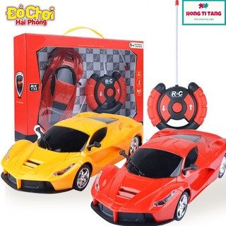 Đồ chơi trẻ em Xe Ô tô điều khiển từ xa điều khiển Vô lăng phát triển kĩ năng khám phá thể hiện cá tính cho trẻ