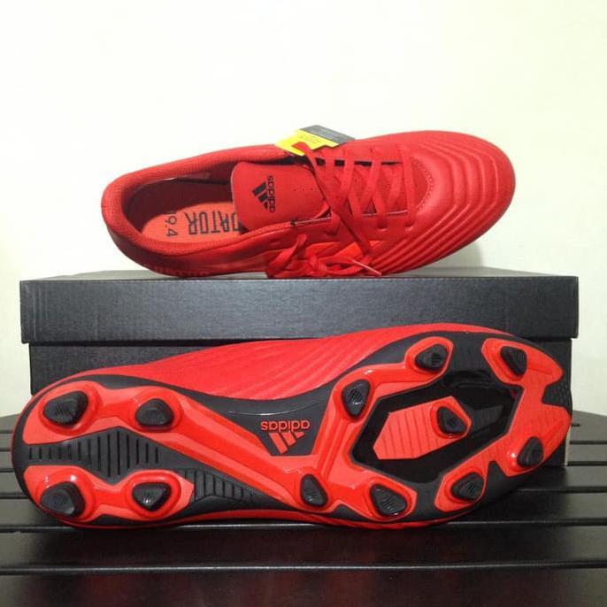 21847594af1c Sepak Bola Sepatu Bola Adidas Predator 19.4 FXG Active Red D97970 Original  BNIB
