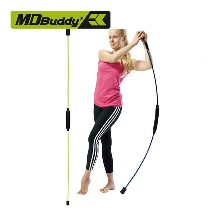 [Mã MASOMLM3 giảm 15% tối đa 50K đơn 150K] Thanh rung động tập thể dục, gym, yoga...Flex Bar MDBuddy MD1125 (nhựa TPR)