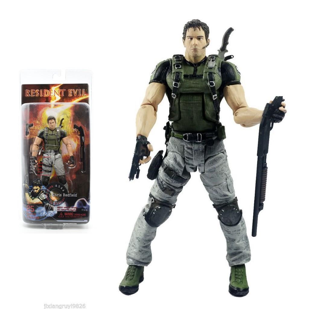 Mô hình có khớp NECA Chris Redfield – Resident Evil (Cao 18cm)