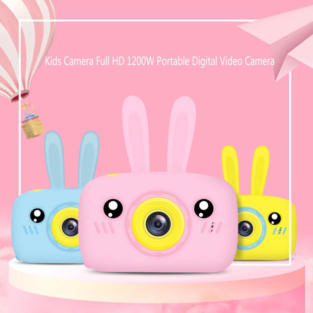 Máy ảnh trẻ em Full HD 1200W Máy quay video kỹ thuật số cầm tay 2 inch Màn hình LCD Hiển thị trẻ em tặng quà cho trẻ em