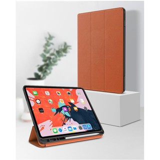 Bao da tỏa nhiệt hiệu Totu cho iPad Pro 12.9 inch 2018 (thời trang, chống trầy xước, có ngăn đựng bút)- Hàng chính hãng thumbnail
