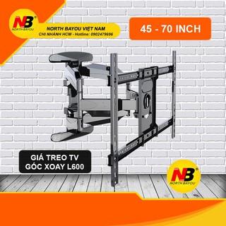 Giá treo tivi đa năng xoay góc L600 (45 – 70 Inch) – Hàng nhập khẩu
