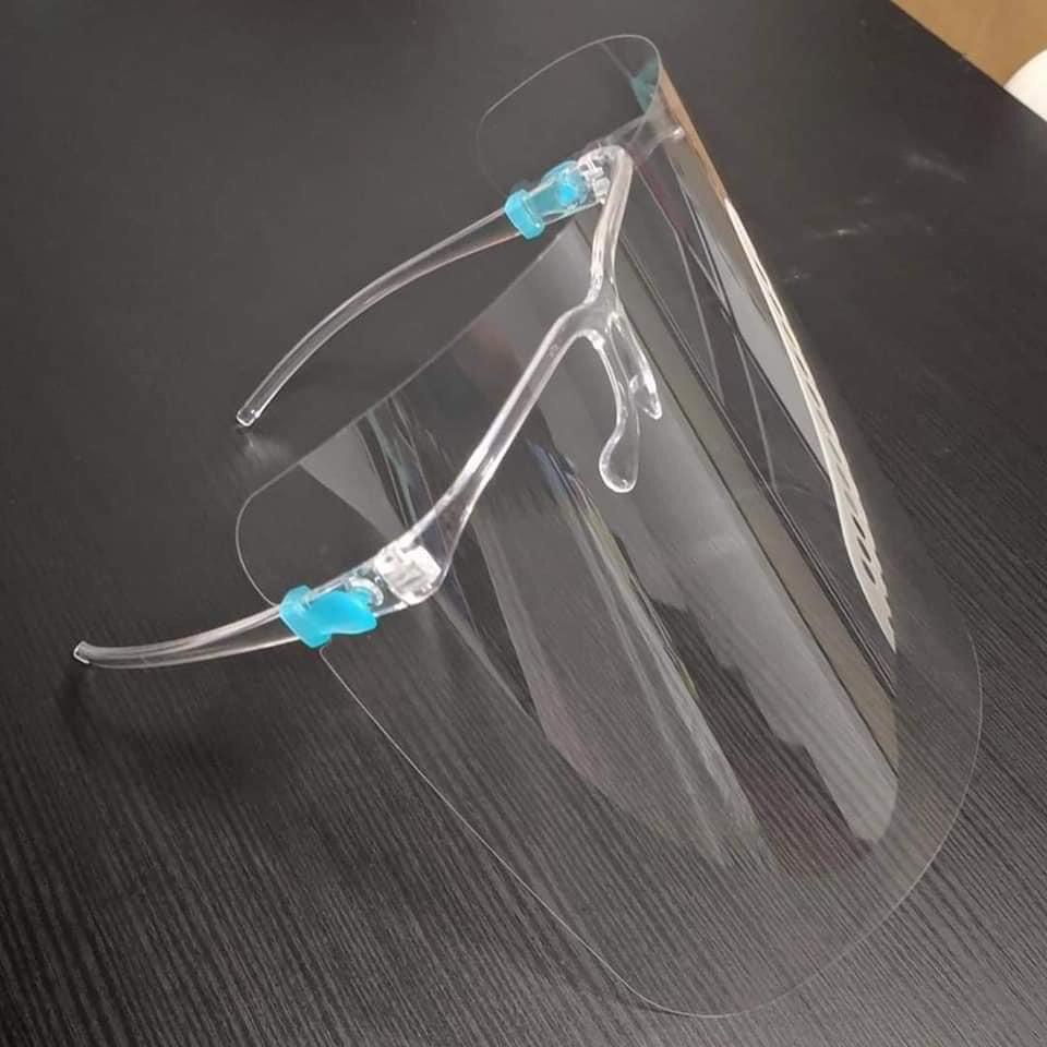 Mắt kính bảo hộ FACE SHIELD chống giọt bắn, chống bụi - cực hot trong mùa COVIT