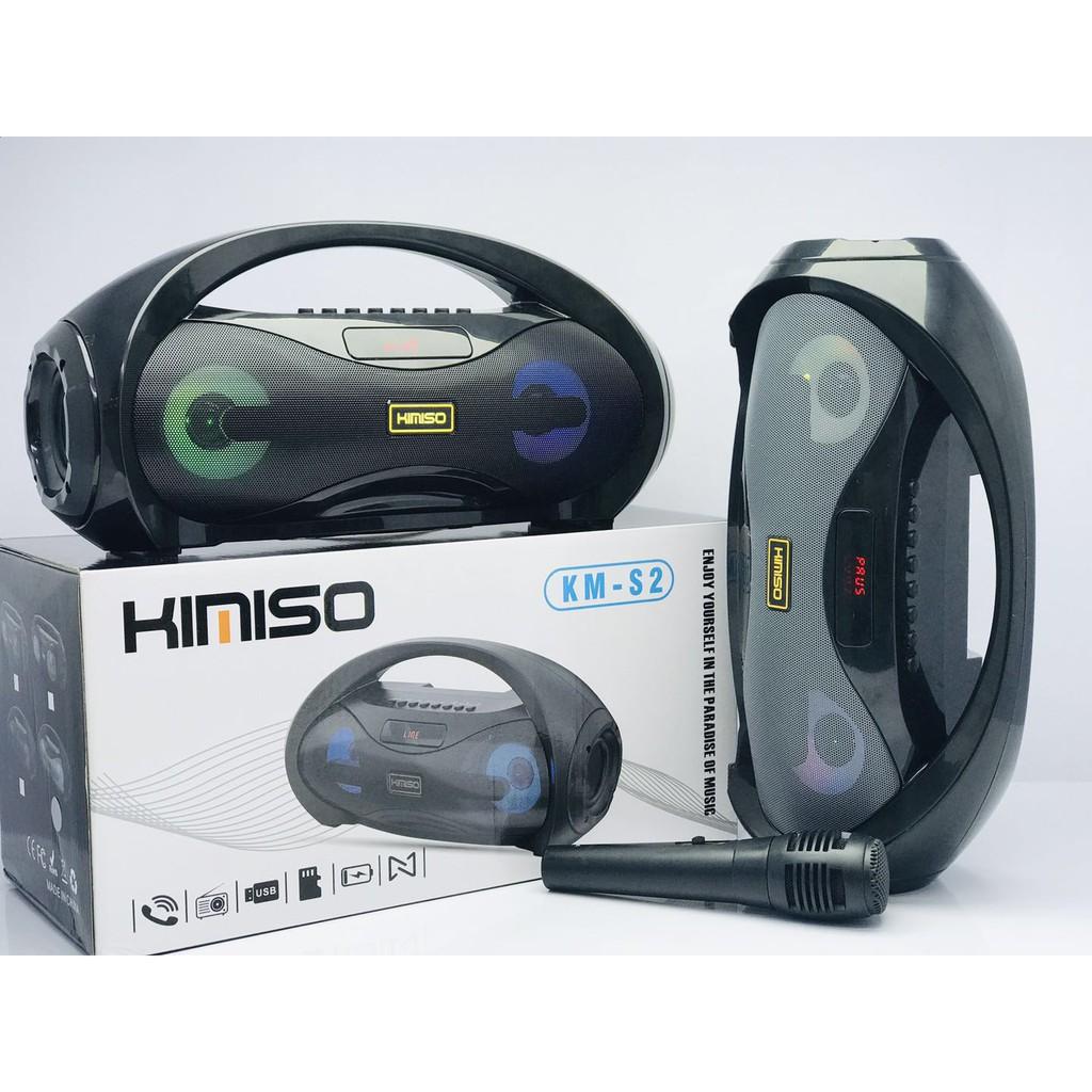 Loa karaoke bluetooth Kimiso KM-S2 có kèm mic - Giá Sốc 24h