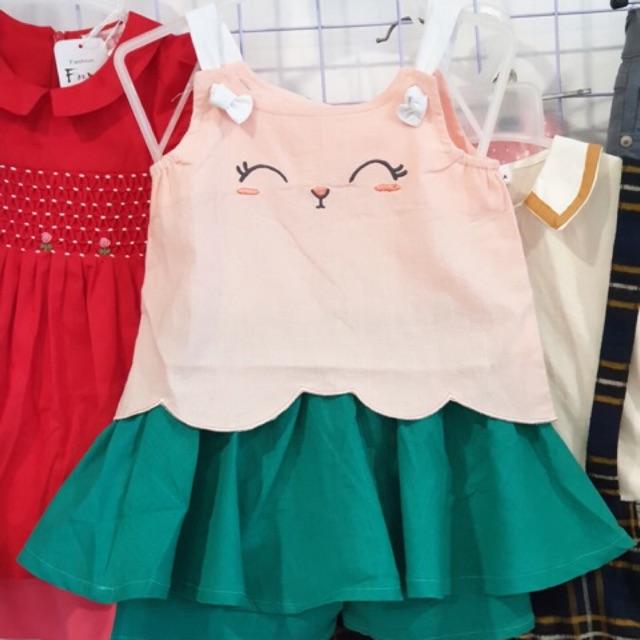 Sét váy và áo xuất Hàn
