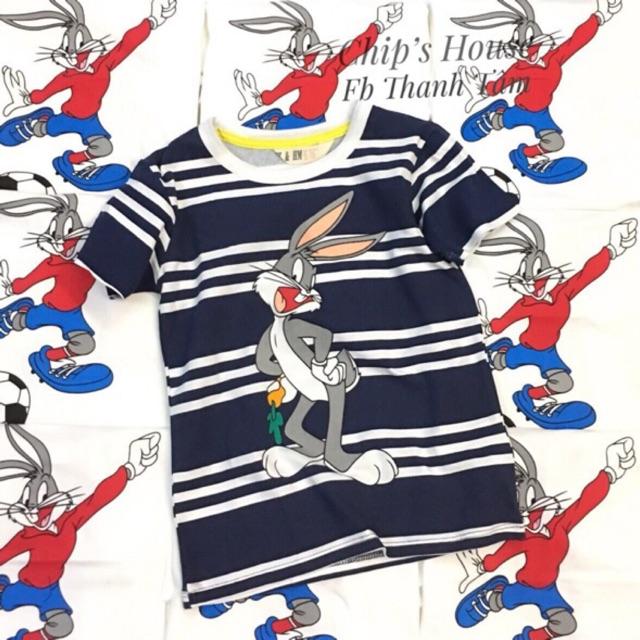 Áo thỏ xuất dư cho bé trai