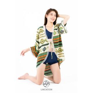 Áo Khoác Kimono Nữ LMcation Naomi - Màu Thổ Cẩm thumbnail