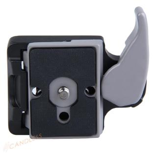 Black Camera 323 Quick Release Adapter with Manfrotto 200PL-14 Compat Plate