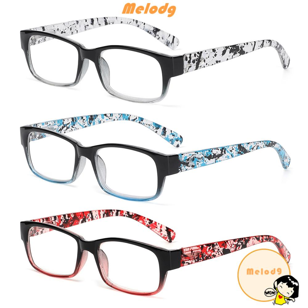 💍MELODG💍 +1.0~+4.0 Reading Glasses HD Clear Lens Eyewear Presbyopia Eyeglasses TR90 For Women&Men Ultralight Resin Gradient/Multicolor