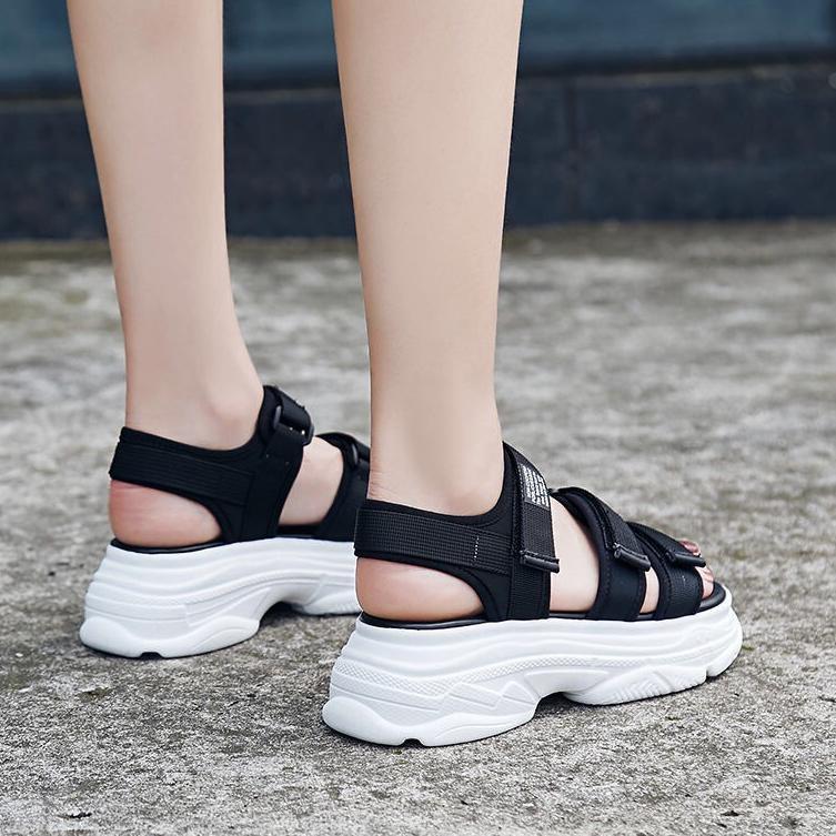Giày Sandal 3.3 Phong Cách Hàn Quốc Xinh Xắn Cho Nữ