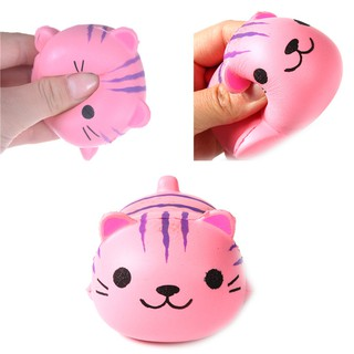 Kawaii Squishy Cat Slow Rising Toy Charm Soft Scented Squeeze Toy
