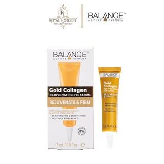 Kem Mắt Tái Tạo Và Dưỡng Da Mắt Balance Active Formula Gold Collagen Rejuvenating eye 15ml thumbnail