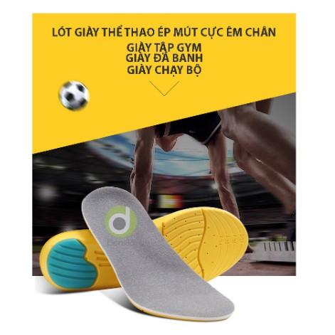 1 cặp lót giày thể thao êm chân, hai lớp thấm hút mồ hôi, chống hôi chân_PK26_LOTGIAY