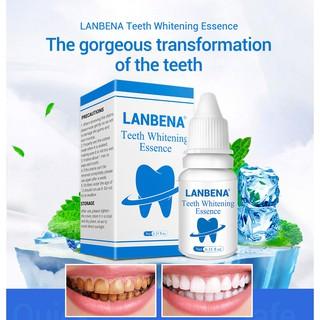 Huyết thanh làm trắng răng Lanbena