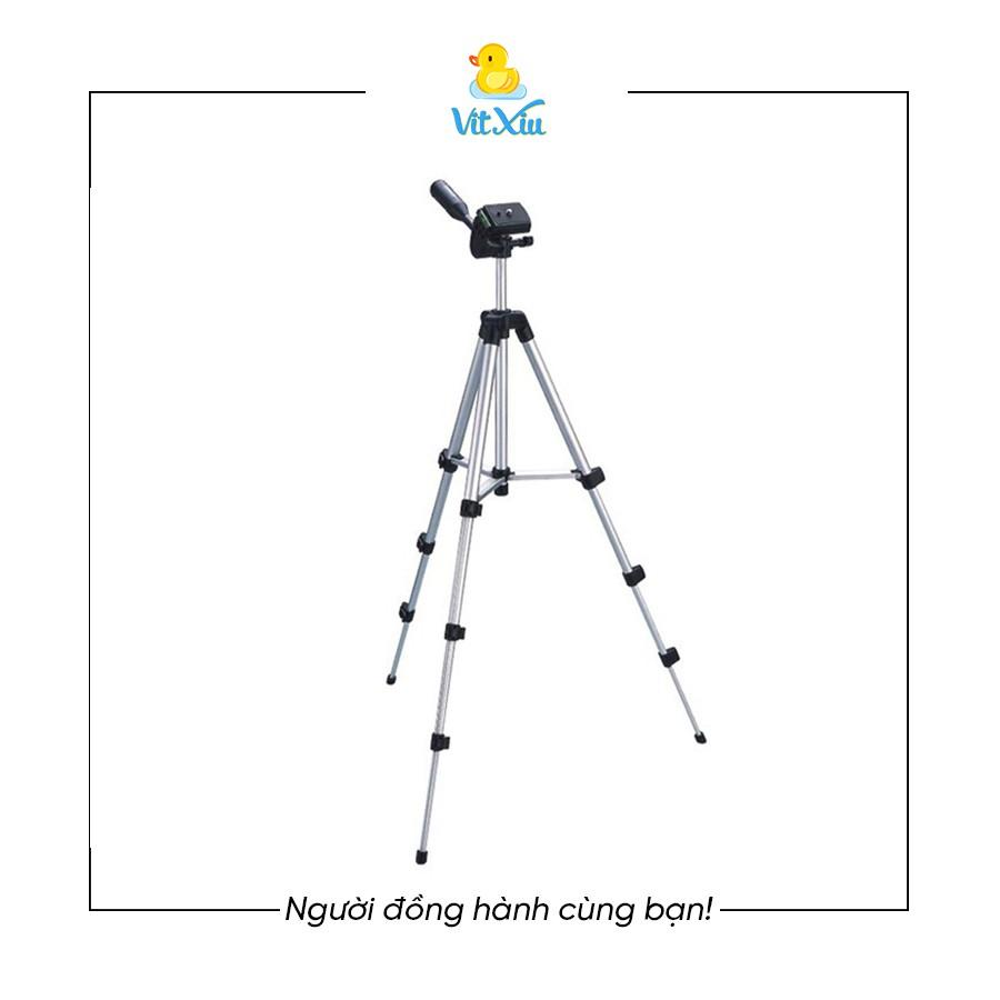 Chân máy ảnh cao cấp, Tripod điện thoại giá rẻ tặng kèm kẹp điện thoại, chân bạc tuộc và remote tiện lợi