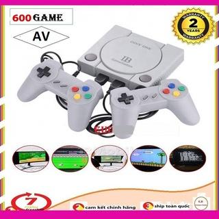 600 game 3D Máy Chơi Game 4 Nút GameStation Sẵn 600 Game Chơi Chuyên Nghiệp 2 Tay Cầm Dây Dài Xịn Xò thumbnail
