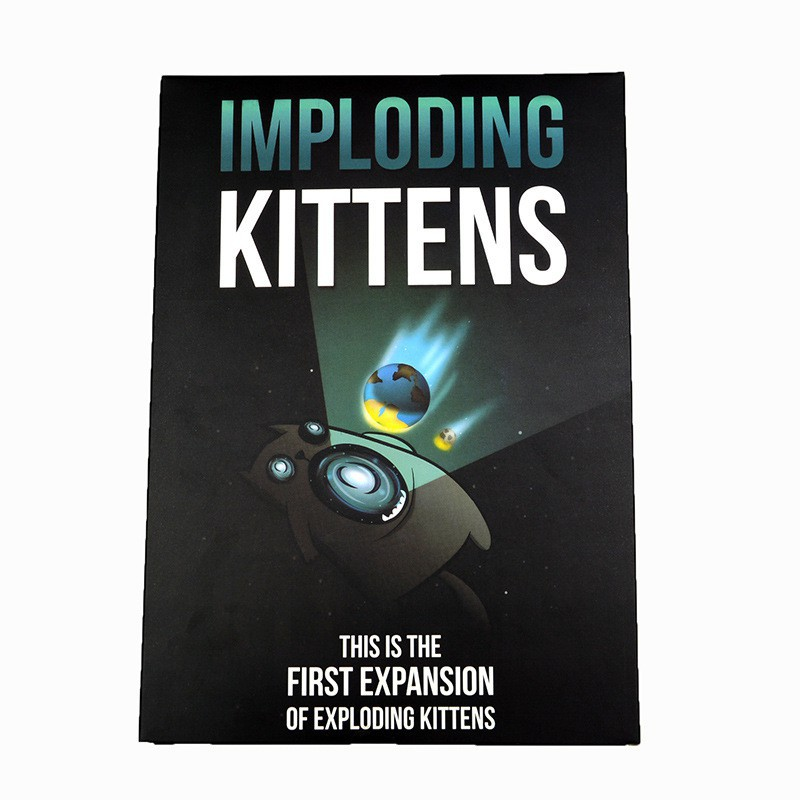 Exploding Kittens NSFW Imploding Card Board Game Party Game Children Adult Toys