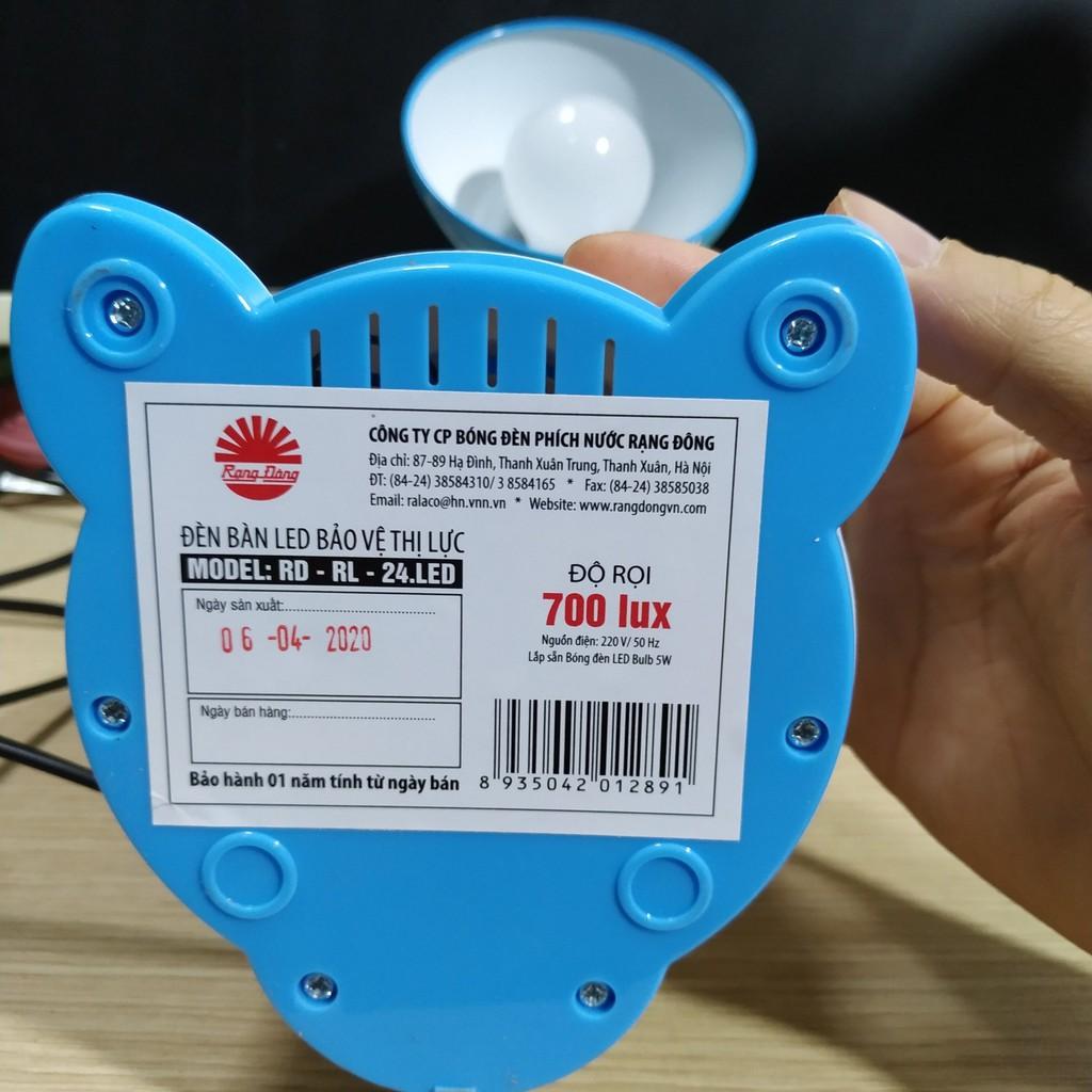 [Chính Hãng] Đèn Bàn Chống Cận Bảo Vệ Thị Lực Rạng Đông 24 LED