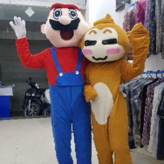 Quần áo hoá trang Mascot Mario đỏ – sinh nhật, sự kiện